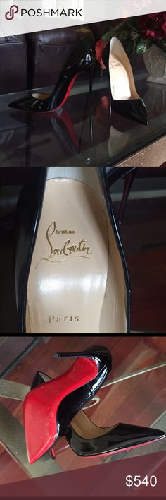 Christian Louboutin So Kate Brand new 100 % AUTHENTIC Christian Louboutin So Kate pumps. The only flaw is the sticky residue from the retail sticker. NO BOX or DUST BAG. Please see additional pics on my other post. Christian Louboutin Shoes Heels