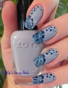 Dry Marble Nail Art with Zoya Kristen