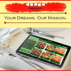 Tablet Menu can Fulfill Your Business Goals! Know more here: http://www.imenucards.com  #imenu #tabletmenu #digitalmenu #food