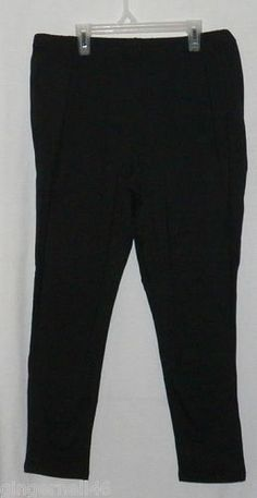 JMS Essential Legging Size 2X 18w-20w Stretch Jersey Black New w/ Tag Hanes free shipping