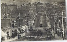 """Cripple Creek, Colorado Bennett Avenue shown  Mil's Place: GOLDFIELD-----A GOOD PLACE FOR """"SPARKING"""" blog Visit link to read."""