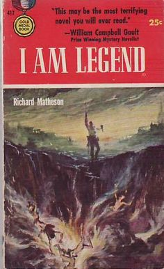 I Am Legend is a 1954 horror fiction novel by American writer Richard Matheson. It was influential in the development of the zombie genre and in popularizing the concept of a worldwide apocalypse due to disease. The novel was a success and was adapted to film as The Last Man on Earth in 1964, as The Omega Man in 1971, and as I Am Legend in 2007