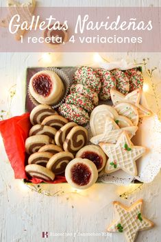 The video consists of 23 Christmas craft ideas.