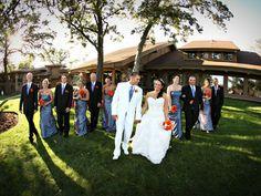 Wedding party at Lake Lawn Resort   #lakelawnresort