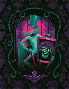 ✶ Haunted Mansion Hatbox Ghost by Jeff Granito From The Disney WonderGround ★