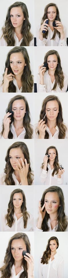 Flawless Skin Beauty Tutorial. Makeup by The Amy Clarke. Once Wed, Bryce Bradford Photography