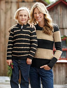 Mother/Son Sweaters for photos