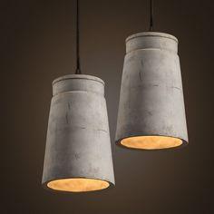 Concrete Odense Pendant Light #beton #ceiling-light #cement