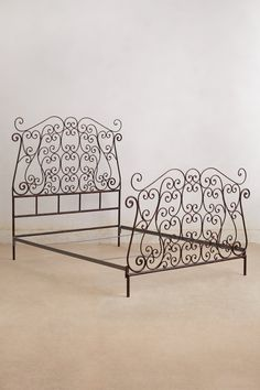 Autumn Filigree Bed - Anthropologie.com <--- All that's missing is a TEMPUR-Pedic mattress! #ChoiceisYours #TempurChoice