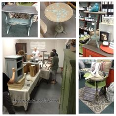 Grab a friend, a small piece of furniture, and come paint with us using American Paint Company chalk/clay paint in our Studio at SalvagedDecor!