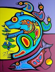 Title of painting: Bear Medicine - Nourishment of the Soul Native Art, Native American Art, Native Canadian, American Symbols, American Women, American Indians, American History, Art Haïda, Woodland Art