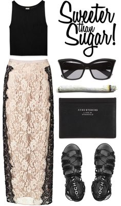 """sugar. sugar."" by goldiloxx on Polyvore"