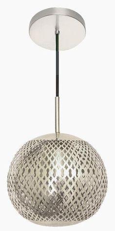 Ziya Contemporary Pendant Light - Silver