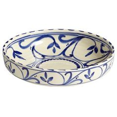 Azul Scroll Serving Bowl ($39.95) -- no longer available from Pier1.com