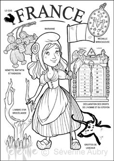 "iColor ""Little Kids Around The World"" ~ France Around The World Theme, Kids Around The World, Colouring Pages, Coloring Books, World Thinking Day, World Geography, Thematic Units, World Cultures, In Kindergarten"