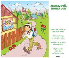 jedna dvě honza jde - Hledat Googlem Haha, Preschool, Family Guy, Album, Comics, Fictional Characters, Ha Ha, Kid Garden, Kindergarten