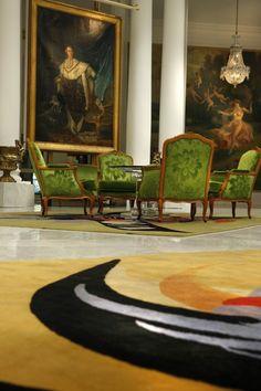 The Negresco Hotel in Nice, lobby