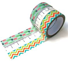 Cute washi tape set of 3 washi tape lot of 3 by LoveStickyNotes