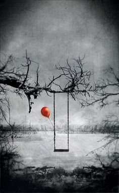 A red balloon.Civil Wars The Girl With the red Balloon Splash Photography, Black And White Photography, Art Photography, Color Splash Photo, Red Balloon, Paint Balloons, Red Wallpaper, Foto Art, Black And White Pictures