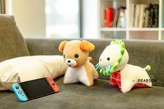 Animal Crossing Plush, Kawaii Plush, Plushies, Random Things, Super Cute, Toys, Pattern, Handmade, Animals