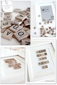 maak je eigen fotolijstje - Met scrabble letters