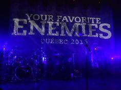 3 hour show by Your Favorite Enemies in the Petit Champlain Quarter in Quebec City Le Petit Champlain, Quebec City, Enemies, Concerts, Your Favorite, Quebec