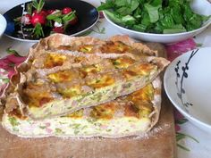 Raccontare un paese: Le mie ricette: torta salata con asparagi e prosci...
