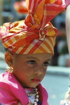 Little girl from Guadeloupe #GuadeloupeIslands