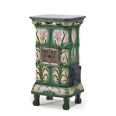 FRENCH TILED STOVE :