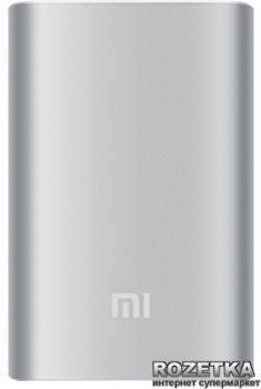 УМБ Xiaomi Mi Power Bank 10000 mAh Silver (NDY-02-AN-SL)
