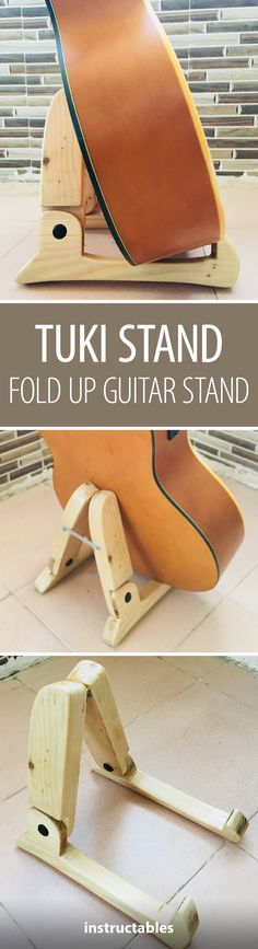 The TUKI Stand: Fold Up Guitar Stand