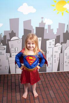 Supergirl In-Studio Children's and Family Photography Wichita, Kansas