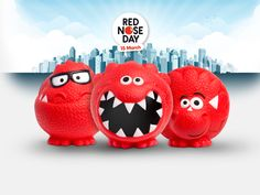 Images For > Red Nose Day Logo Red Nose Day, Children Images, Dinosaur Stuffed Animal, Dolls, Logo, Kids, Animals, Baby Dolls, Young Children