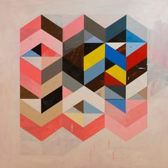Abstract Paintings by Jeff Depner Photo