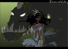 Twisted Disney Princesses deviantART | twisted-princess-disney-frog-tiana-princesse-artiste-SorahChan-anime ...