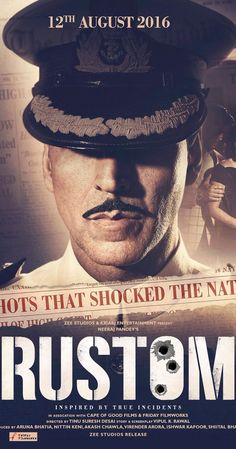 Directed by Dharmendra Suresh Desai.  With Akshay Kumar, Ileana D'Cruz, Esha Gupta, Manoj Bajpayee. In 1959, a decorated naval officer is accused of murdering his wife's lover.