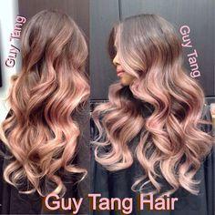 Iridescent lilac blonde ombré by Guy Tang | Yelp