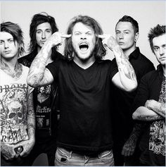 Will always love the 'old' Asking Alexandria and LOVE Danny Worsnop ~ but am excited and in love with the 'new' Asking Alexandria too, i think Denis Stoff is amazing and right for the band.