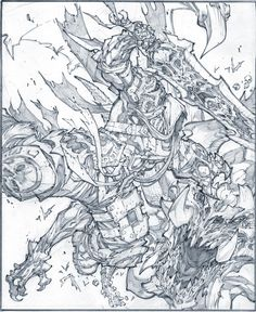 Darksiders//Joe Madureira/M/ Comic Art Community GALLERY OF COMIC ART