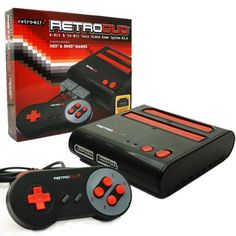 RetroDuo NES & SNES Game Console from Video Game Depot for $59.99 on Square Market