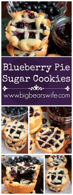These little Blueberry Pie Sugar Cookies are filled with an amazing but easy…