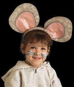 This is pretty cute too if we can get it to curve nicely. Basically, big, clever, curious, perky ears for Boy