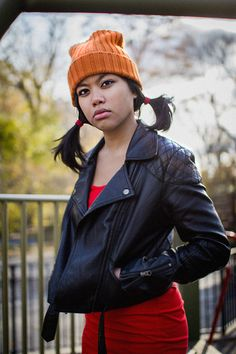 Would it be corny for me to say that she's the spitting image of Spinelli?