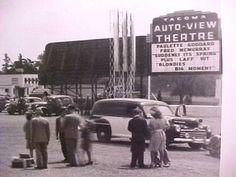 Tacoma, Washington's Auto View Drive-In, ca. 1940s