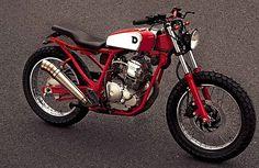 Yamaha Scorpio 225 by Deus Ex Machina