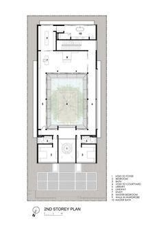 Centennial Tree House,Second Floor Plan