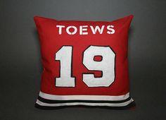 "Chicago Blackhawks Inspired Sports Pillow-16x16"""