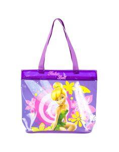 Tinker-Bell Clear Zipper Bag