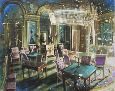 GAUCI, Gerard | Galerie de Bellefeuille Nostalgia Art, Galerie D'art, Illustration Art, Illustrations, Inspiring Art, Painting, Contemporary Artists, Contemporary Art, Illustration