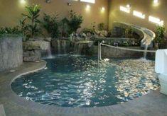 Swimming Pools With Cool Sliudes | Modern Furniture Design Blog